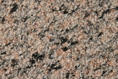 Ладожский розовый гранит после точечной обработки (бучардирование)